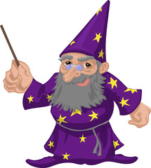 friendly wizard