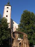 kirche mit ökumenischem denkmal in banska bystrica