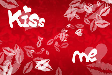 illustration Kiss Me
