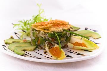 Crab salat