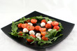Salad Caprese (tomato and cheese)