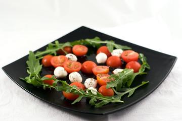 Salad Caprese (tomato and cheese)