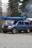 camping,kayak,trailer poster
