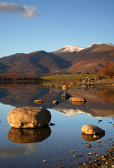 Derwent Water reflections