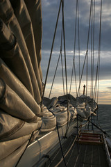 Dawn in Sails