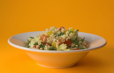 bowl of tabbouleh