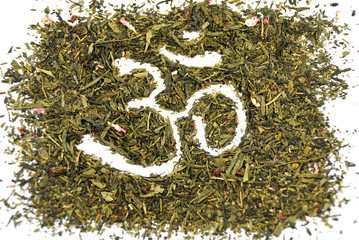 OM on green tea
