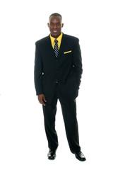Business Man In Black Suit 5