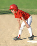 child on first base poster