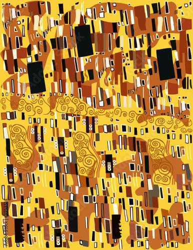 Obraz Gustav Klimt, Abstract