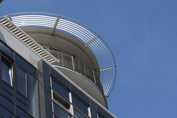 Moderne Dachkonstruktion