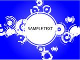 Blue Circle Copyspace poster