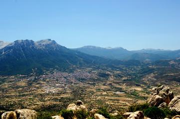 Sardinia interior panorama
