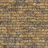 Old dirty brick wall poster