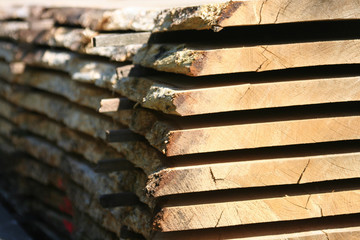 planche de bois sec