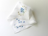 batist handkerchiefs with embroideries poster