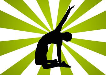 Background Gymnast