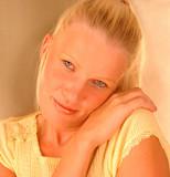 Shy Blonde Beauty poster