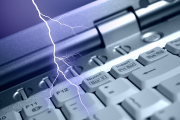 Lightning and information technologies