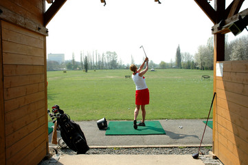 Golf - Driving range