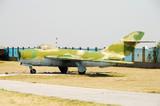 Old Soviet era jetfighter poster