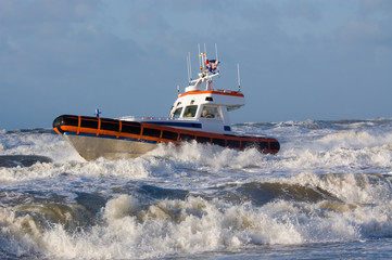 coast guard during storm