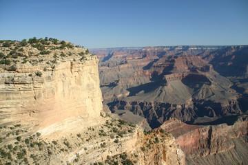 Felsvorsprung Grand Canyon, USA
