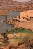 A village in Atlas mountains, Morocco poster