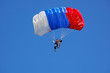 Leinwandbild Motiv Parachuter