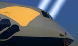 Aircraft nose section poster