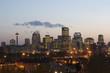 Calgary, Alberta, at sunset
