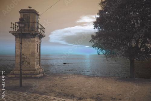 Fototapeten,leuchtturm,kroatien,istrien,rovaniemei