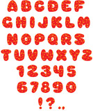 Funny font poster
