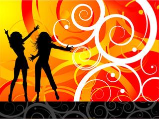 Funky dancers