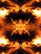 Fire fractal