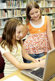 School Library - Fun Online poster
