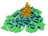 Fototapety Plan city