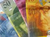 banknotes swiss francks poster