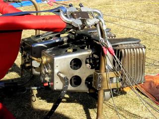 Hot Air Balloon burner assembly