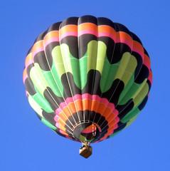 Hot air Balloon floating.