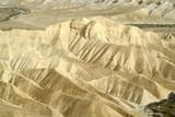 sand dunes sede boker desert, israel poster
