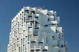 Futuristic Building in La Grande Motte, France poster