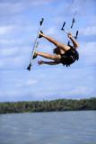 Kite surfing in brazil poster