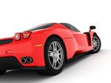 Fototapety red sports car