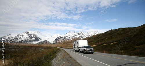 canvas print picture rv,motorcoach,motorhome