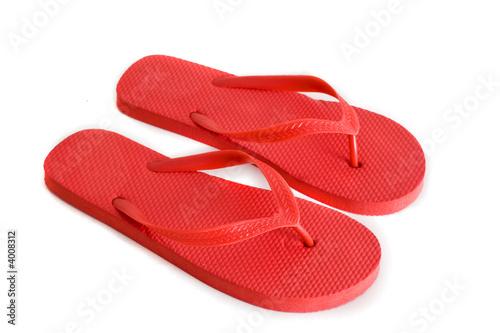 Red Flip Flops - 4008312