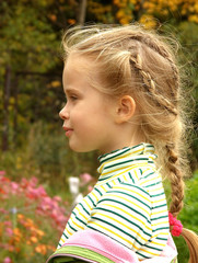 The child`s profile