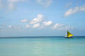 alone in the sea