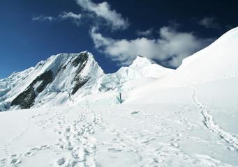 Snowcovered peak