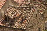 Rooftops in Dubrovnik poster